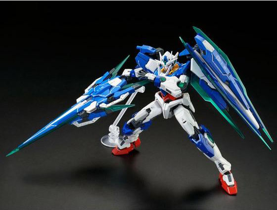 RG Gundam 00 Qan[T] Full Saber - Click Image to Close