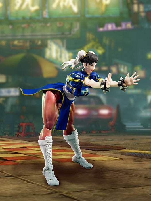SH Figuarts Street Fighter: Chun Li - Click Image to Close
