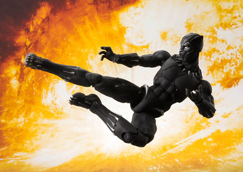 SH Figuarts Black Panther & Tamashii Rock Effect (Preorder) - Click Image to Close