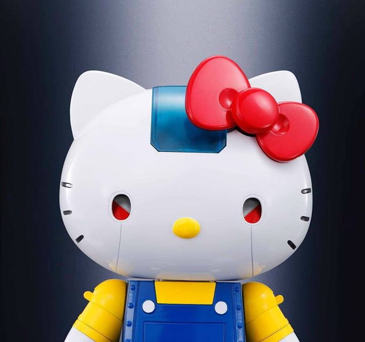 Chogokin Hello Kitty (Blue ver) - Click Image to Close