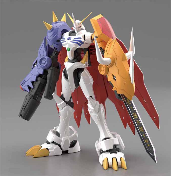 FigureRise Standard Omegamon Amplified - Click Image to Close