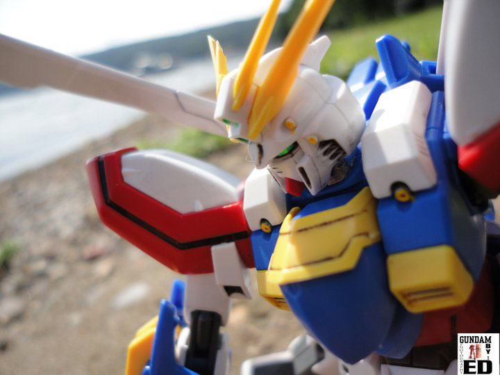 HG God Gundam - Click Image to Close