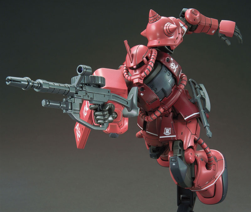 HGUC Char's Zaku II Red Comet ver - Click Image to Close