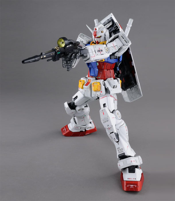 PG Unleashed RX-78-2 Gundam (Preorder) - Click Image to Close