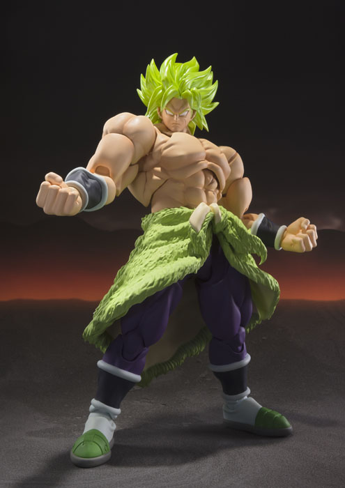 SH Figuarts Dragon Ball: Super Saiyan Broly Full Power - Click Image to Close