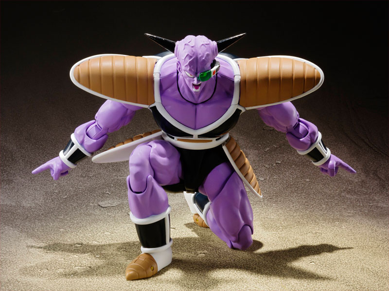 SH Figuarts Dragon Ball: Captain Ginyu (Preorder) - Click Image to Close