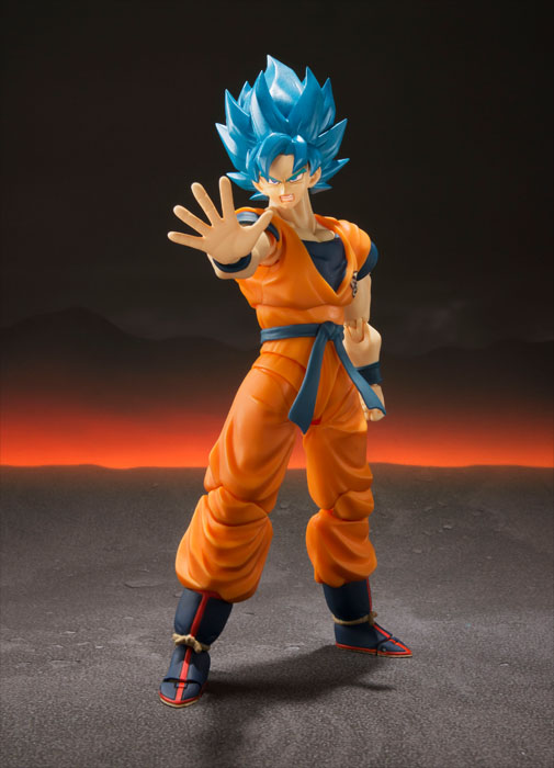 SH Figuarts Dragon Ball: SSGSS Son Goku Super ver (Preorder) - Click Image to Close