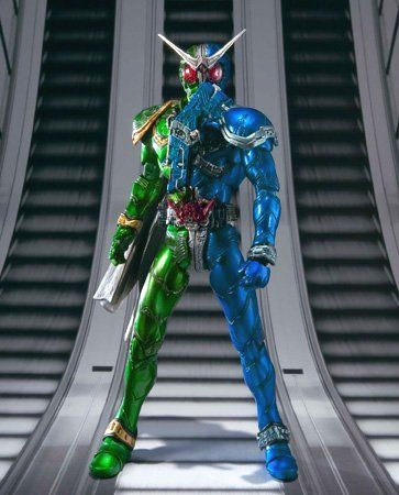 SIC #58 Masked Rider W Heat Metal & Luna Trigger - Click Image to Close